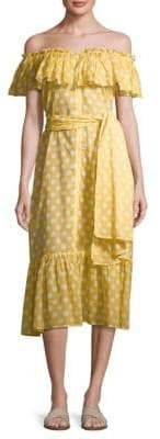 Lisa Marie Fernandez Mira Off-The-Shoulder Dress