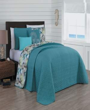 Heritage Bay Surf City 5-pc Queen Reversible Quilt Set