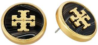 Tory Burch Semi-Precious Stud Earrings Earring