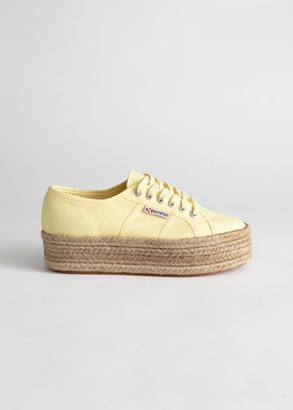 And other stories Superga 2790 Cotrope Sneakers