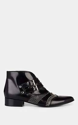 Givenchy Women's Studded Leather Ankle Boots - Black