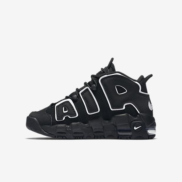 Nike Air More Uptempo QS Little/Big Kids' Shoe 3