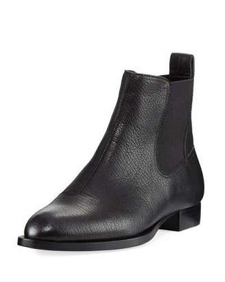 Rag & Bone Mason Pebbled Leather Chelsea Ankle Boot $450 thestylecure.com