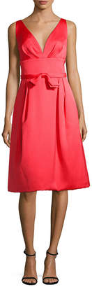 Escada Silk Flare Dress