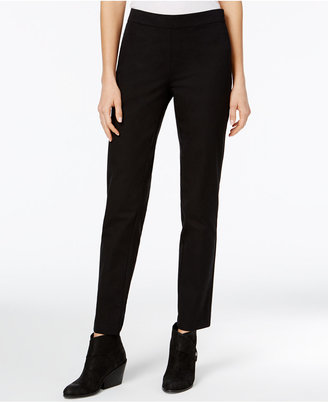 Eileen Fisher Organic Cotton-Blend Twill Pants $158 thestylecure.com