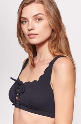 Joie Marysia Palm Springs Tie Bikini Top