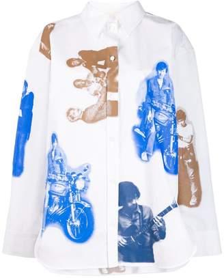 Ports 1961 oversized printed shirt