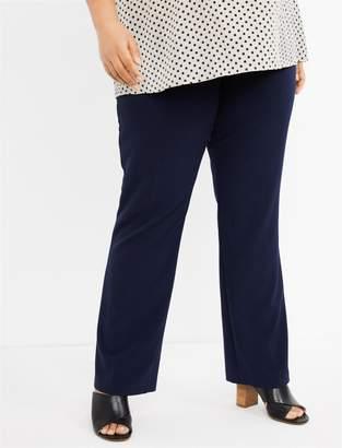 7e698311f44f5 Motherhood Maternity Plus Size Secret Fit Belly Bi-stretch Suiting Straight  Leg Maternity Pants