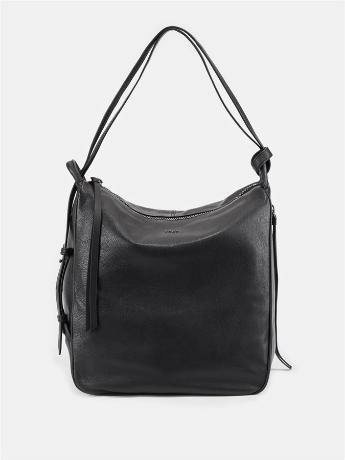 DKNY Soft Leather Hobo Convertible Bag