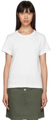 A.P.C. White Daniela T-Shirt