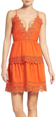 Women's Bardot Sophia Peplum Dress $119 thestylecure.com