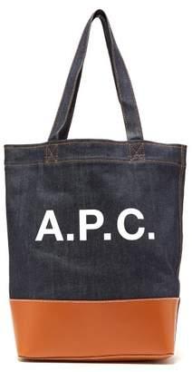 A.P.C. Axel Tote Bag - Mens - Camel