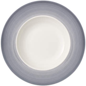 Villeroy & Boch Colorful Life Cosy Grey Pasta Plate 11.75 in
