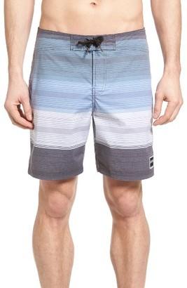 Men's Ezekiel Stripe Board Shorts $58 thestylecure.com