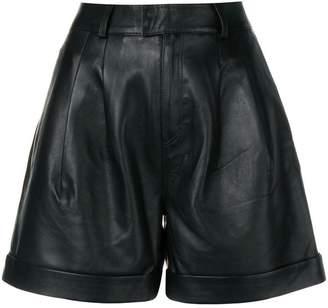 Karl Lagerfeld Paris leather shorts