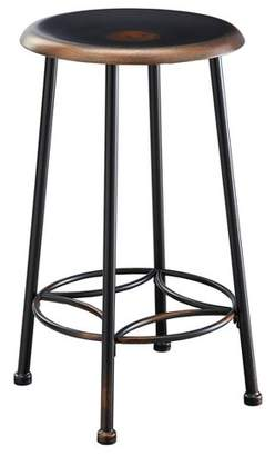 """Carolina Cottage 24"""" Daly Counter Stool Antique Copper - Carolina Chair and Table"""
