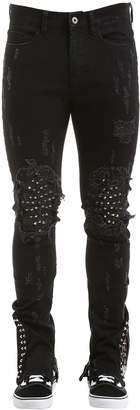 Crixus Studded Denim Jeans