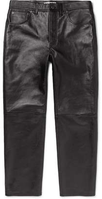 Acne Studios Lancelot Leather Trousers