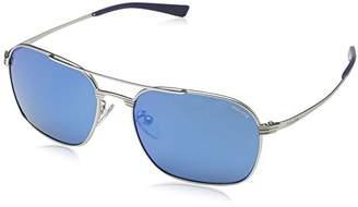 Police Men's S8952 Rival 1 rectangular Sunglasses