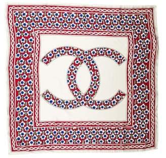 Chanel Silk CC Scarf Silk CC Scarf