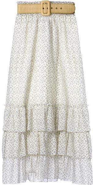Alice + Olivia Print Prairie Skirt