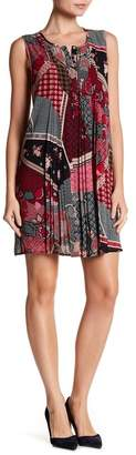 Daniel Rainn DR2 by Sleeveless Pleated Dress