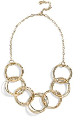 BaubleBar Romina Circle Link Statement Necklace
