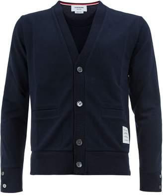 Thom Browne rear pocket cardigan