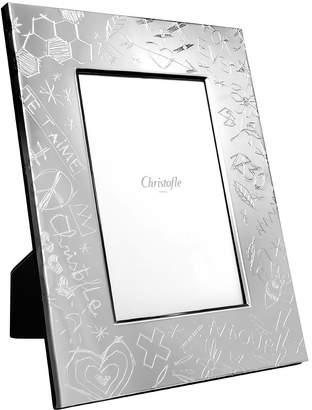 Christofle Graffiti Picture Frame