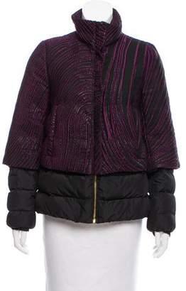 Versace Brocade Puffer Jacket