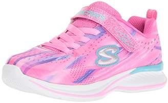 Skechers Girls' Jumpin JAMS-Dream Runner Trainers, (Pink/Multi Pkmt), 6 (23 EU)