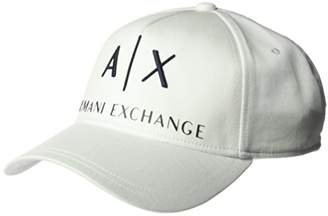 Armani Exchange Men's Logo Hat Baseball Cap