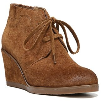 Women's Franco Sarto 'Austine' Lace Up Wedge Bootie $128.95 thestylecure.com