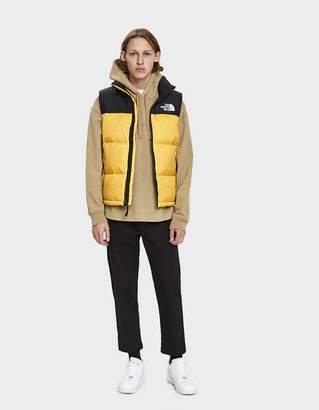 The North Face Black Box 1996 RTO Nuptse Down Vest in TNF Yellow