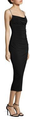 Laundry by Shelli Segal Ruched Midi Dress $168 thestylecure.com