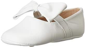 Elephantito Girls' Baby Ballerina with Bow-K Crib Shoe