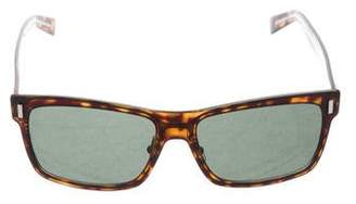 Christian Dior Tortoiseshell Blacktie Sunglasses