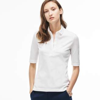Lacoste The Chemise Polo Shirt in stretch cotton