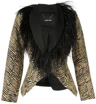 Rachel Comey fitted zebra jacket