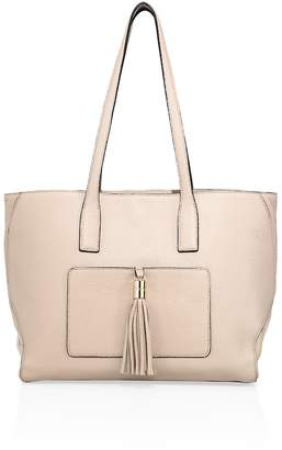 Milly Women's Astor Large Pebble Leather Tote