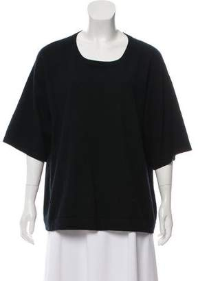 Michael Kors Cashmere Short Sleeve Top