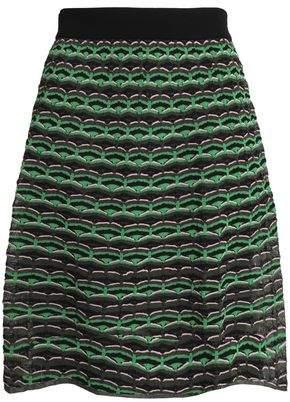 M Missoni Crochet-Knit Skirt