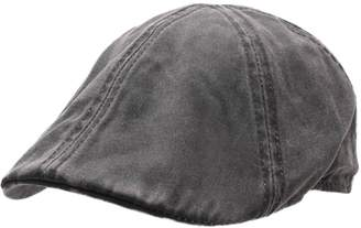 Stetson Men's Level COPE Flat Cap Size S Black-1