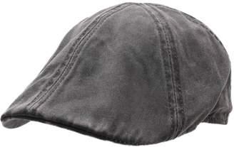 Stetson Men's Level COPE Flat Cap Size XL Black