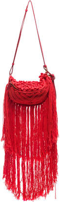 Stella McCartney Small Macrame Hip Bag