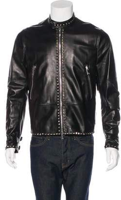 Valentino 2017 Rockstud Lambskin Jacket