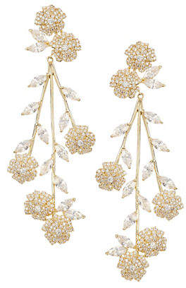 Kate Spade That Special Sparkle Crystal Statement Earrings