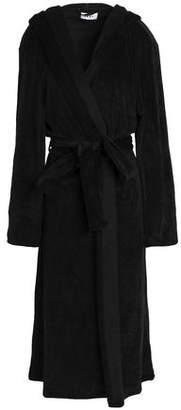 DKNY Fleece Hooded Robe