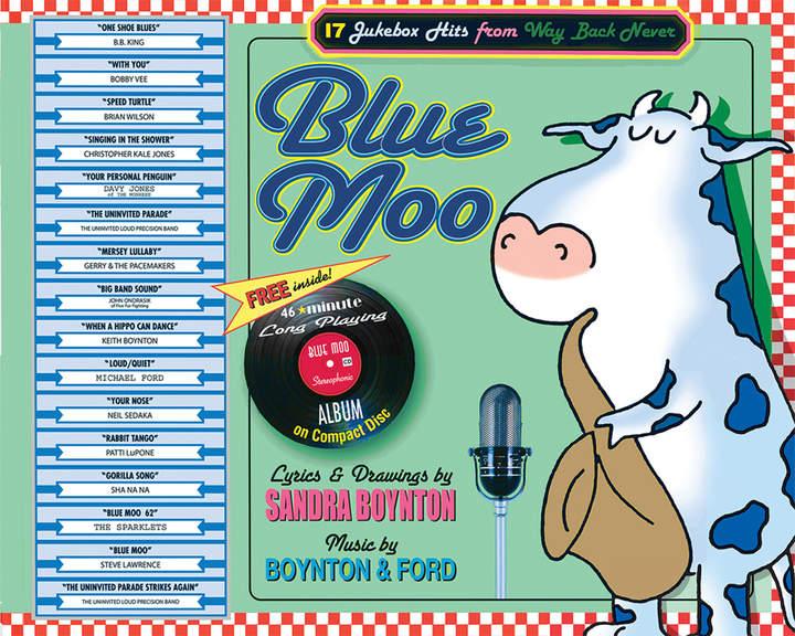 Workman Publishing Blue Moo