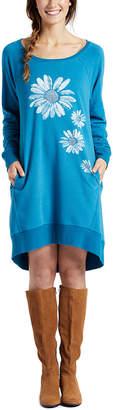 Life is Good Sweatshirt Dress